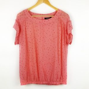 a.n.a Pink star top